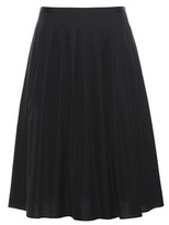 Vince Pleated Cotton Skirt