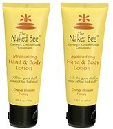 The Naked Bee Naked Bee Orange Blossom Hand and Body Lotion, 2.25 Oz (2 Pack)