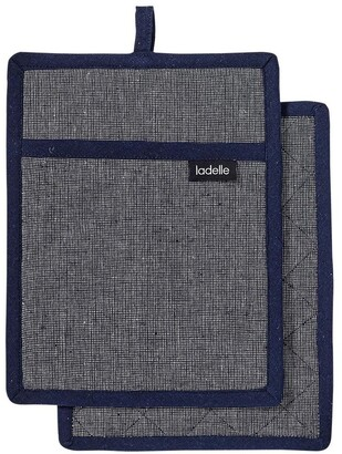 Ladelle Eco Recycled 2pk Pot Holder