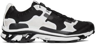 11 By Boris Bidjan Saberi Black and White Salomon Edition Bamba 5 Sneakers