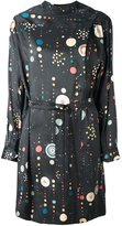 Isabel Marant 'Ossie' cosmic print dress