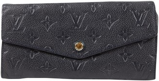 Louis Vuitton Navy Leather Purses, wallets & cases
