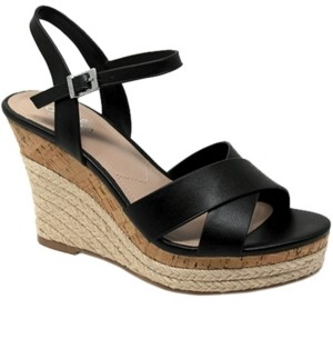 Charles by Charles David Lazaro Platform Wedge Sandals Women's Shoes