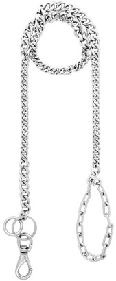 Martine Ali Silver Double Mix Leash