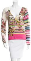 Etro Silk Floral Print Sweater