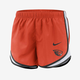 Nike Women's Running Shorts College Dri-FIT Tempo (Oregon State)