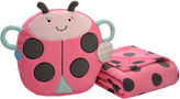 Carter's On-the-Go Ladybug Plush Bag with Blanket
