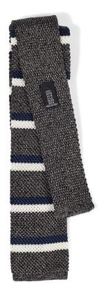 Jigsaw Melange Stripe Knit Tie