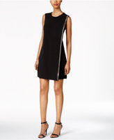 Jessica Simpson Studded Jersey Sheath Dress