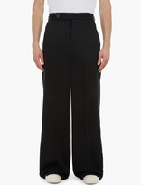 Rick Owens Black Wide-leg Astaire Trousers