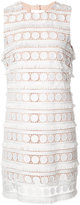 Nicole Miller broderie anglaise shift dress - women - Polyester - 10
