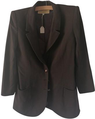 Ungaro Brown Wool Jackets