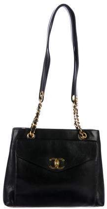 Chanel Lambskin CC Shoulder bag
