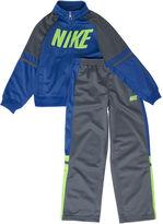 Nike Baby Boys' 2-Piece Two-Tone Tricot Set