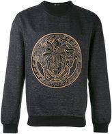 Versace Medusa sweatshirt - men - Cotton/Linen/Flax/Polyamide/Spandex/Elastane - S