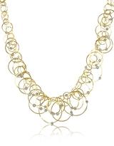Orlando Orlandini Scintille Anniversary - Diamond 18K Yellow Gold Necklace