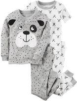 Carter's Baby Boy 4-pc. Dog Tops & Pants Pajama Set
