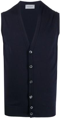 John Smedley Fine Knit Vest