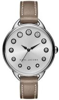 Marc Jacobs Betty Stainless Steel & Metallic Leather Strap Watch