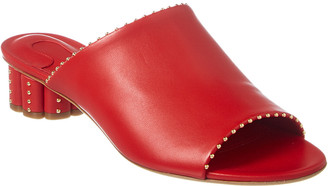 Salvatore Ferragamo Rubiera Leather Sandal