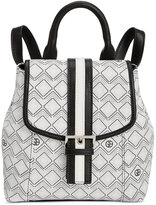 Giani Bernini Graphic Signature Convertible Mini Backpack, Only at Macy's