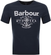 Barbour Sea T Shirt Navy