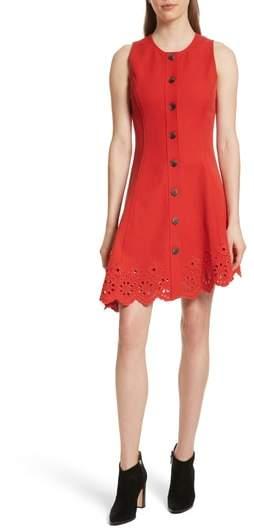 Derek Lam 10 Crosby Scallop Hem Dress