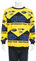Moschino Racing Print Sweatshirt