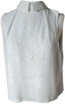 Bel Air White Cotton Top for Women