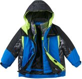 ZeroXposur Boys 4-7 3-in-1 Hooded Heavyweight Systems Jacket