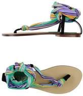 Fisico Toe post sandal