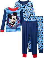 Disney Disney's Mickey Mouse Toddler Boy 4-pc. Tee & Pants Pajama Set