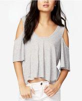 Rachel Roy Cold-Shoulder Crop Top, Created for Macy's