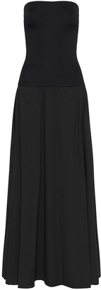 Esse Studio Strapless Fitted Top Maxi Dress