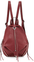 Rebecca Minkoff Julian Medium Leather Backpack, Tawny Port