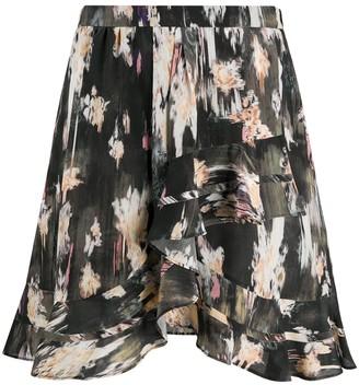 IRO Clemire ruffled skirt