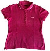 Fila Pink Cotton Top for Women
