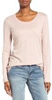 Women's Caslon Long Sleeve Slub Knit Tee