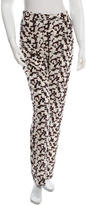 Derek Lam 10 Crosby Printed Silk Pants