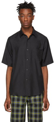 Cobra S.C. Black Silk Short Sleeve Shirt