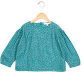 Caramel Baby & Child Girls' Floral Print Long Sleeve Top