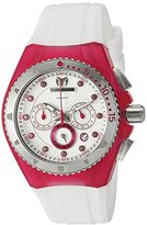 Technomarine Women's 'Cruise Beach' Quartz Stainless Steel and Silicone Casual Watch, Color:White (Model: TM-109012)