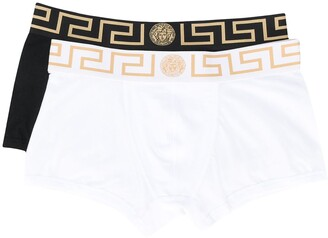 Versace Greca border boxers two-pack