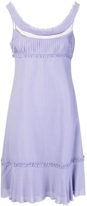 Giorgio Armani Pre-Owned Empire Line Short Dress