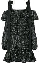Rebecca Vallance Farina Ruffle mini dress - women - Nylon/Polyester/Spandex/Elastane - 6