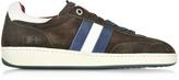 D'Acquasparta D'Acquasparta Ghiberti Dark Brown Suede Flat Men's Sneaker
