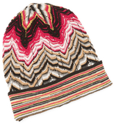 Missoni Cut-Out Gathered Hat