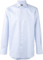 Canali puppytooth print shirt - men - Cotton - 39