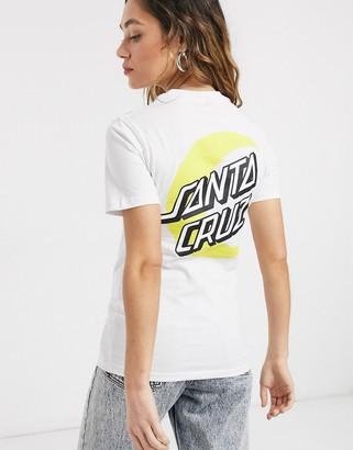 Santa Cruz Organic Moon Dot t-shirt in white