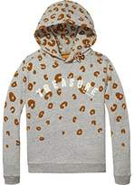 Scotch & Soda R'Belle Girl's Animal Print Hoodie